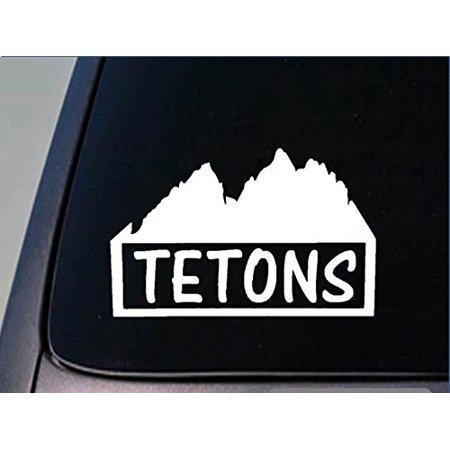 Tetons Sticker *G933* 8