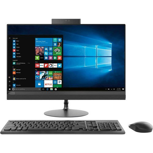"Lenovo IdeaCentre 520-24AST F0D3000EUS All-in-One Computer - AMD A-Series A12-9720P 2.7GHz - 8GB DDR4 SDRAM - 1TB HDD - 23.8"" Display - Windows 10 Home"