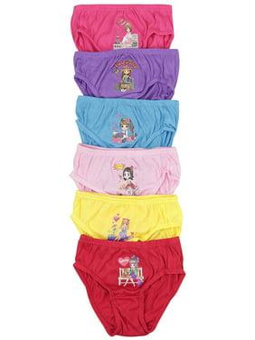 ToBeInStyle Girls' Pack of 6 Seamless Bikini Panties - Weekday Girl