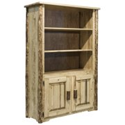 Glacier Country Collection Bookcase with Storage