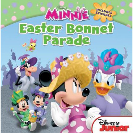 Minnie Stickers (Minnie Easter Bonnet Parade : Includes)