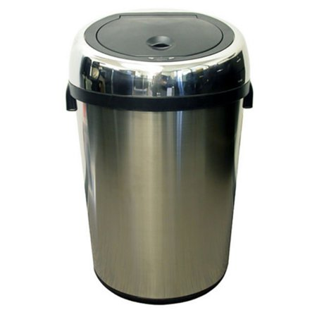 Itouchless It18rc Trashcan Nx Stainless Steel Trash Can