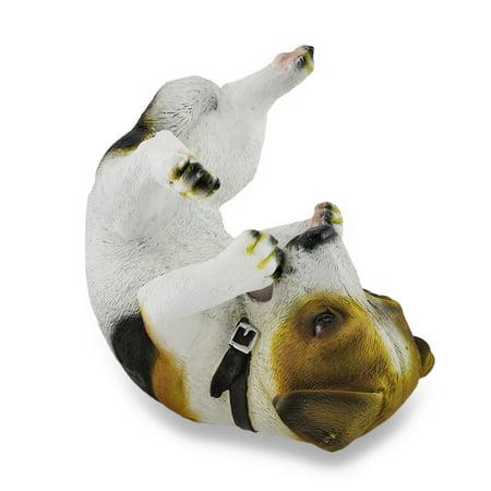 (Jack Russell Terrier Wine Holder Bottle Display Sculpture)