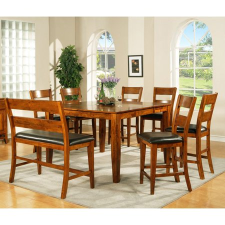 Steve Silver Mango Counter Height 8-Piece Dining Table Set ...