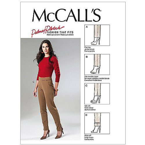 McCall's Pattern Misses' Pants, EE (14, 16, 18, 20)