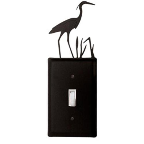 Village Wrought Iron ES-133 Heron Switch Cover