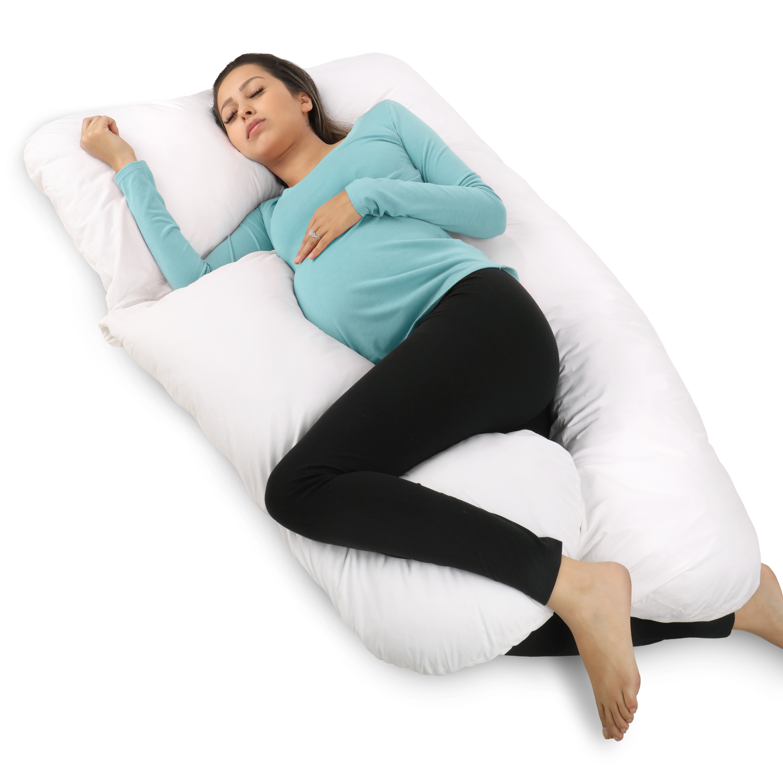 PharMeDoc Full Body Pregnancy Pillow U Shaped Body Pillow Maternity Pillow for Pregnant Women w  Detachable... by PharMeDoc
