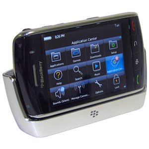 Blackberry Charging Pod, Smart Quick Desktop Charging Pod with LED Light Indicator for BlackBerry Storm 9530