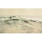 Nat Hist of the Highlands 1919 Oyster catchers Canvas Art - Edwin Alexander (18 x 24)