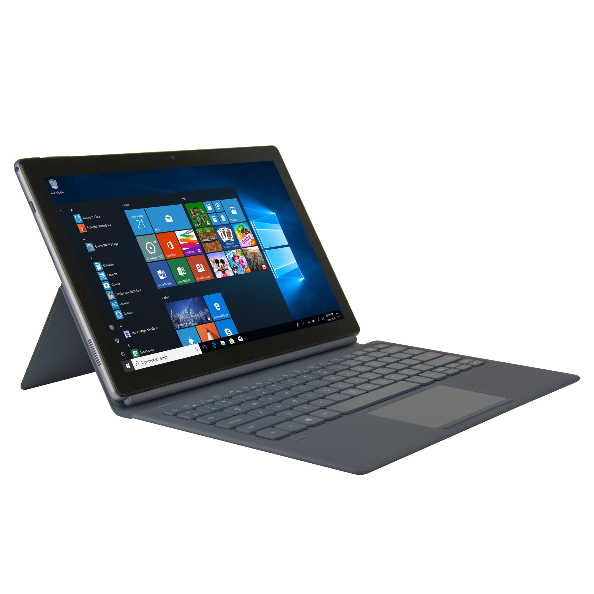 "Nuvision Split 11.6"" 2n1 Tablet"