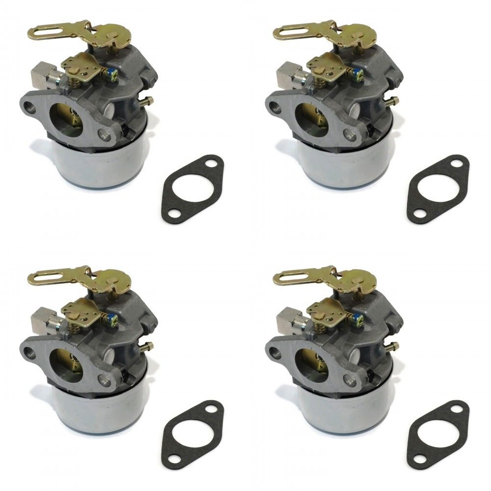 (4) CARBURETORS Carbs for Tecumseh 640299 640299A 640299B Snow Blower Thrower by The ROP Shop