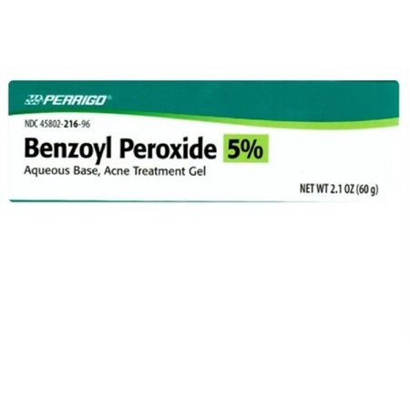 Perrigo Benzoyl Peroxide Acne Treatment Gel 2.1 oz