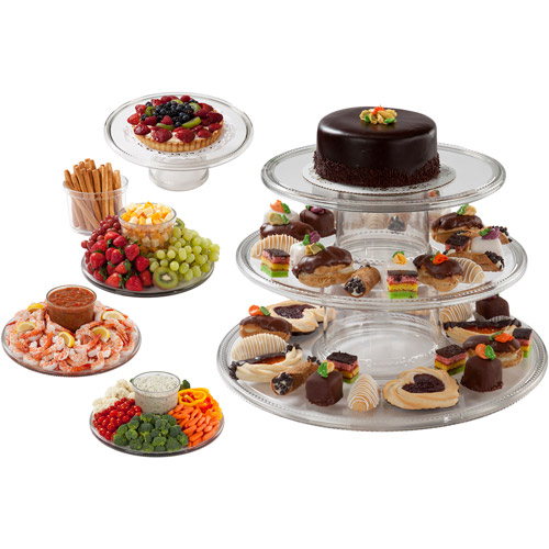 Creative Bath 3-Tier Cake Server Tower