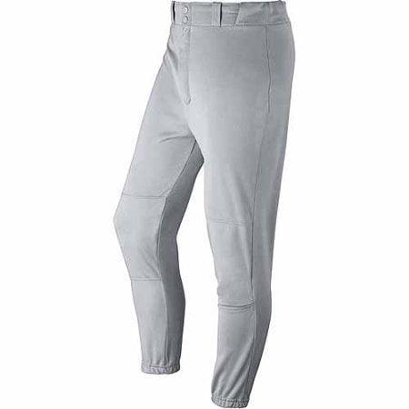 wilson men's classic fit baseball pant, grey, x-large