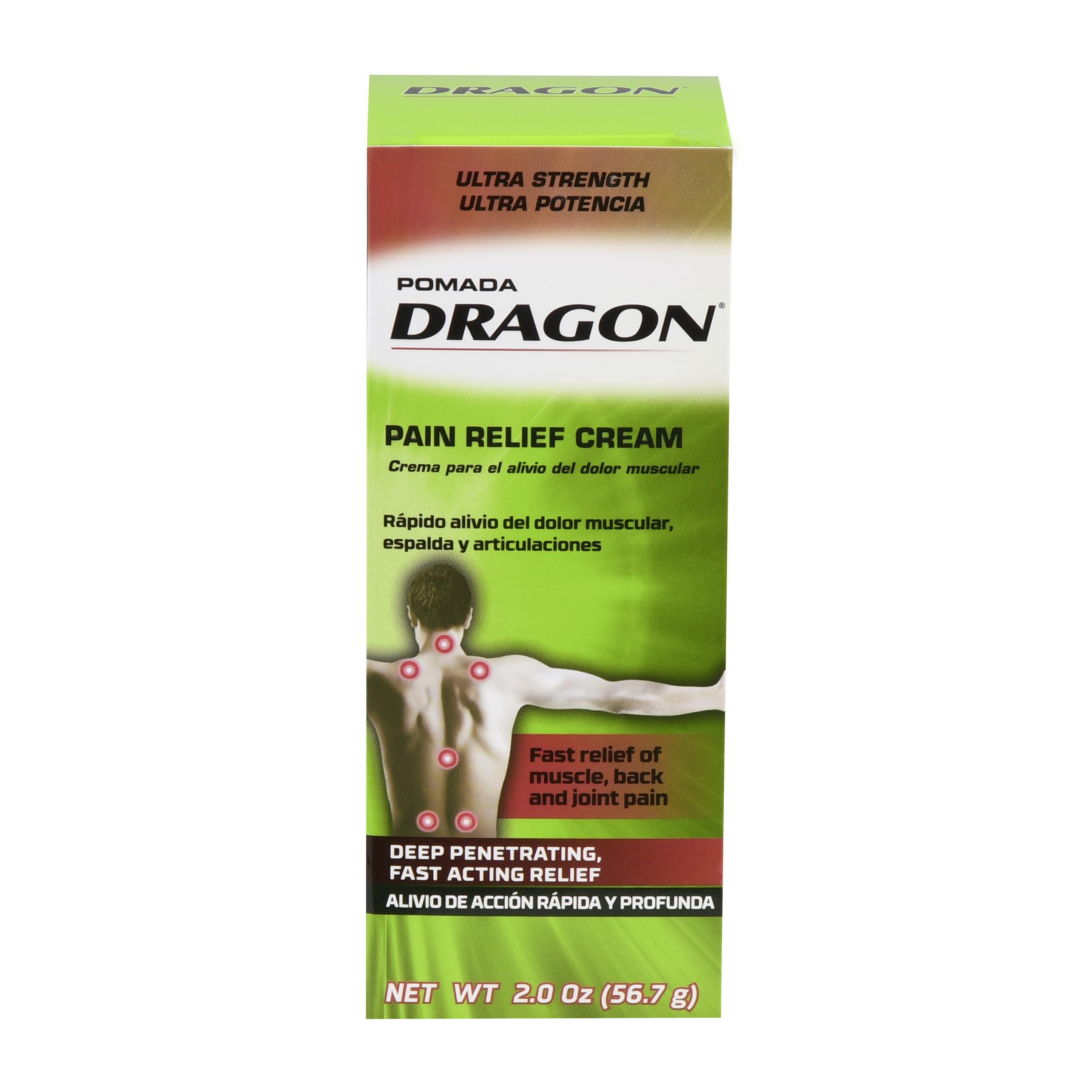 Dragon Ultra Strength Pain Relieving Cream, 2 oz