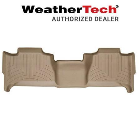 WeatherTech Floor Liner Floor Mat Fits 07-14 Cadillac Escalade ESV - Tan (Cadillac Escalade Esv Rear Floor)