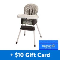 [$10 Additional Savings] Graco SimpleSwitch 2-in-1 Convertible High Chair with Free $10 Gift Card