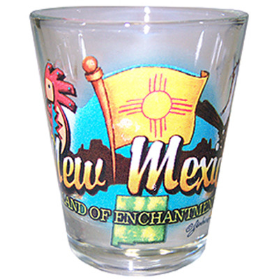 "Ddi New Mexico Shot Glass 2.25h X 2"" W Elements (pack Of 96)"