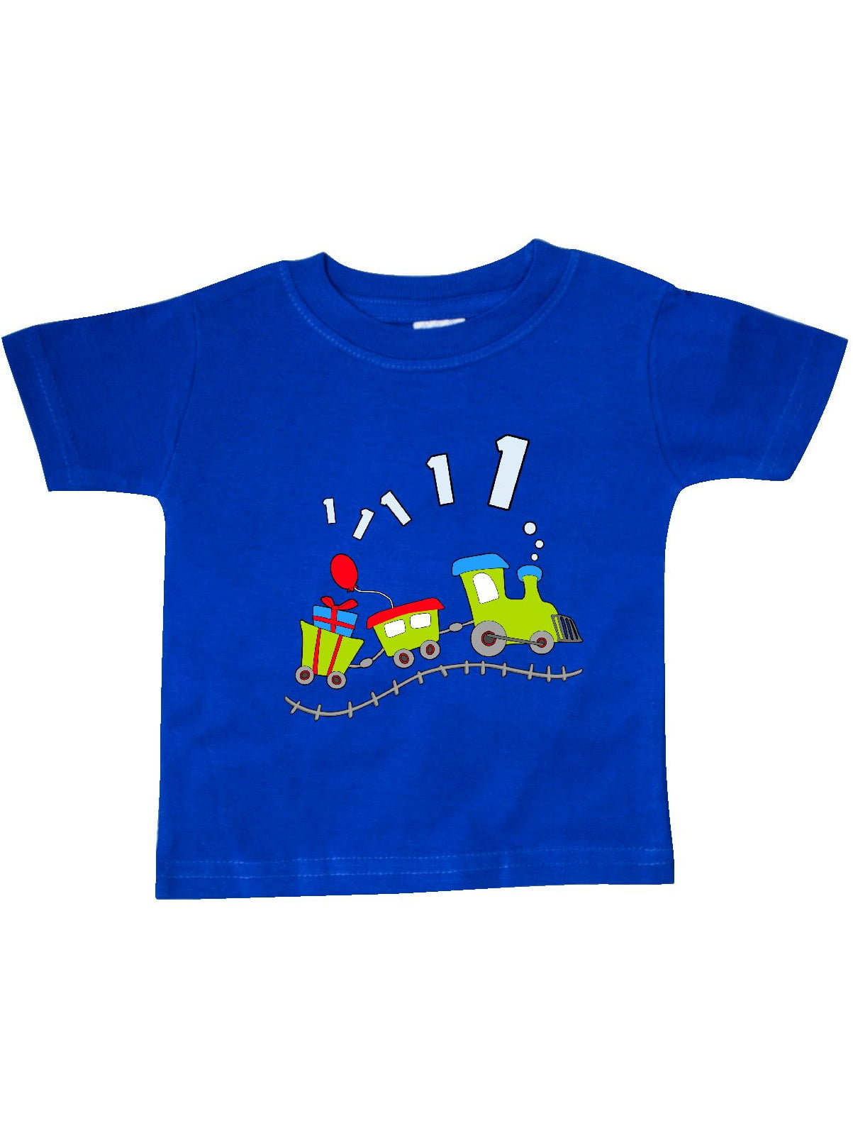 1st Birthday Party Train Baby T Shirt