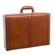 "McKlein, V Series, TURNER, Top Grain Cowhide Leather, Leather 4.5"" Expandable Attaché Briefcase"