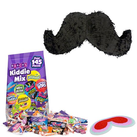 Mustache Party Pinata Kit