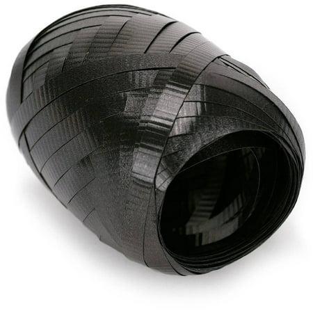 Black Curling Ribbon, 1 Roll - Black Curling Ribbon