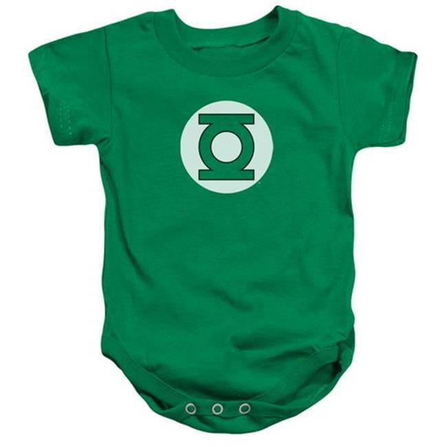 Dc-Green Lantern Logo - Infant Snapsuit - Kelly Green, Large 18 Mos - image 1 of 1