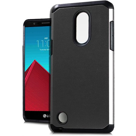 save off d82b3 409ad For LG Rebel 3 (Tracfone) Phone, Hard Cover Case (Black)