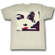 Marilyn Monroe Men's  Smokin T-shirt Vintage White