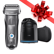Braun Series 7 7865cc ($40 in Rebates Available) Men's Electric Foil Shaver, Wet and Dry Razor with Clean & Charge Station