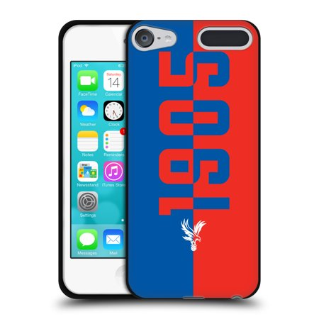 OFFICIAL CRYSTAL PALACE FC THE EAGLES BLACK SOFT GEL CASE FOR APPLE IPOD TOUCH