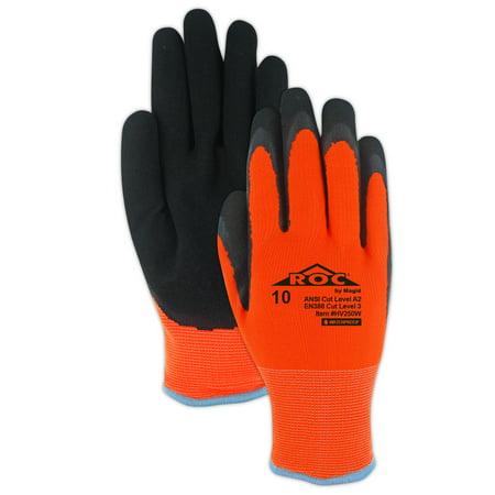 (Magid ROC HV250W Waterproof Thermal Coated Work Glove  Cut Level A2, 1 Pair)