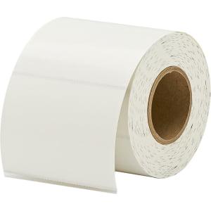 Primera 75400 Semi Gloss Name Badge Tag Stock   4  34  Width X 3  34  Length   500   Roll   Rectangle   2  34  Core   Inkjet   18   Carton Tag 500 Label No Adhesive For Lx400