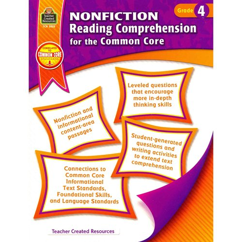 Nonfiction Reading Comprehension for the Common Core: Grade 4