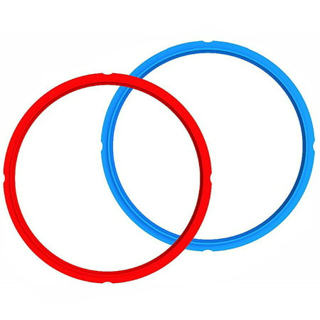Ring Sealing - Sealing Rings 2-- Pack- Mini 3 Quart red/Blue Combo