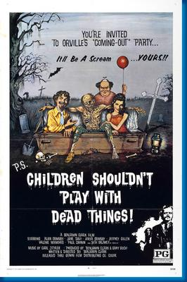 Children Shouldn?T Play With Dead Things Movie Poster 24x36 by