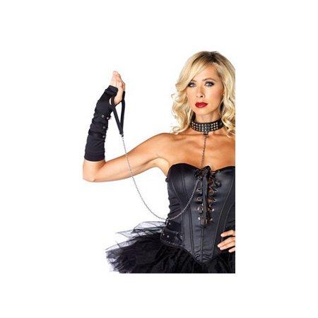 Collar Leash Bondage Adult Halloween Accessory - Halloween Wellness