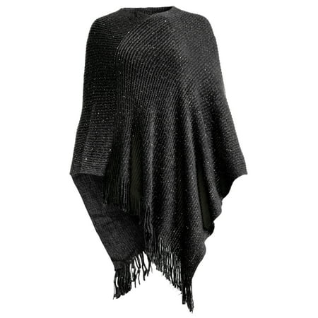 - Black Women's Hand Knitted Scarfs and Wraps Online Cowl Hand Knitting Gift and Ladies Neck Warmer Chunky Cape Bordeaux Scarves for Women Winter Wear by Goood Times