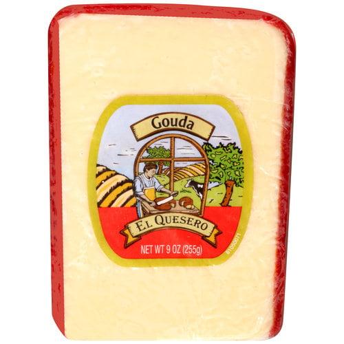 El Quesero Gouda Cheese, 9 oz