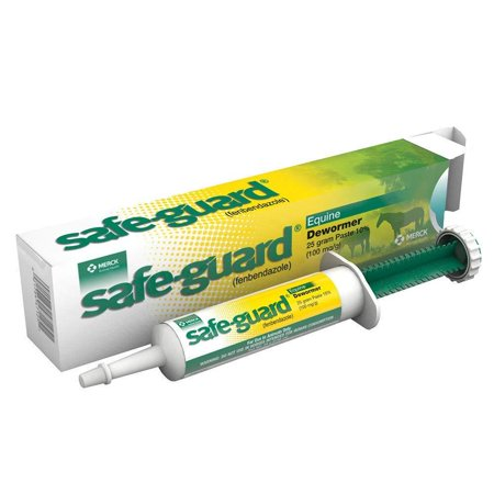 - Safe Guard 25 Gram Paste Equine Dewormer, Perfect for general parasite control in rotational deworming By Merck Animal,USA
