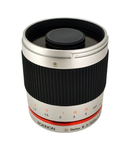 Rokinon 300M-FX-S 300mm F6.3 Mirror Lens for Fuji X Mirrorless Interchangeable Lens Cameras by ROKINON