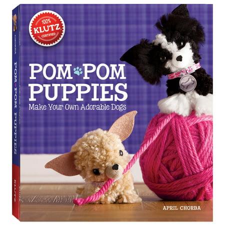 Pom, Pom Puppies Book Kit](Klutz Pom Pom Puppies)