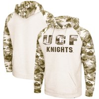 UCF Knights Colosseum OHT Military Appreciation Desert Camo Raglan Pullover Hoodie - Oatmeal