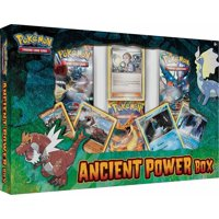 Pokemon Trading Card Game: Ancient Power Box (3 Booster Packs + 4 Promo Cards)