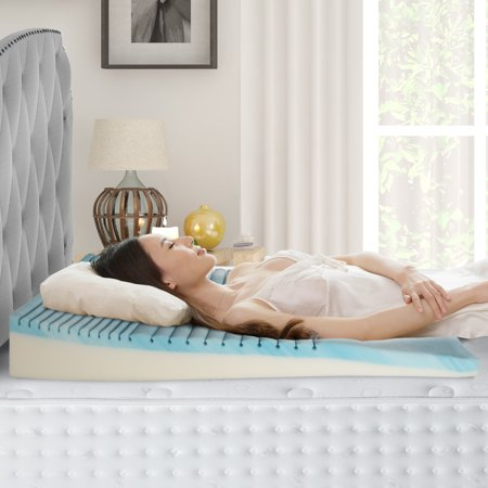 Broyhill GelLux Gel Memory Foam Body Sleep Wedge (Body Aches After Sleeping On Memory Foam)