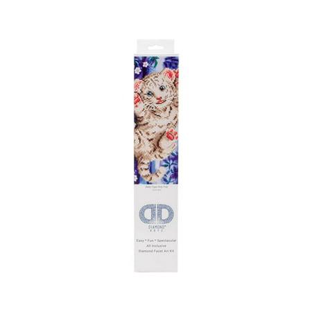 Diamond Dotz Kit Intermediate Baby Tiger Roly Poly for $<!---->