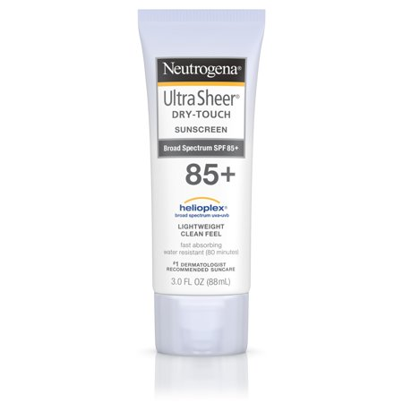 Neutrogena Ultra Sheer Dry-Touch Water Resistant Sunscreen SPF 85, 3 fl. oz
