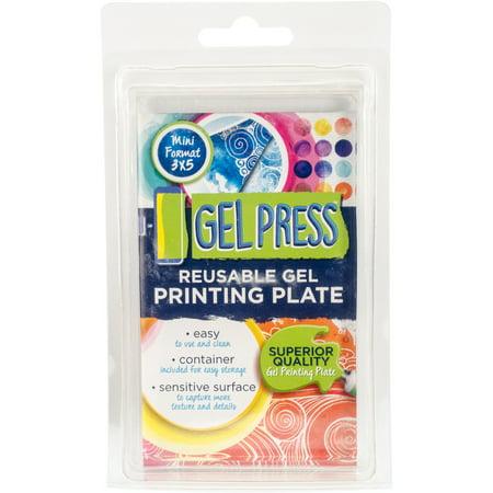 Gel Press Gel Plate 3 X5