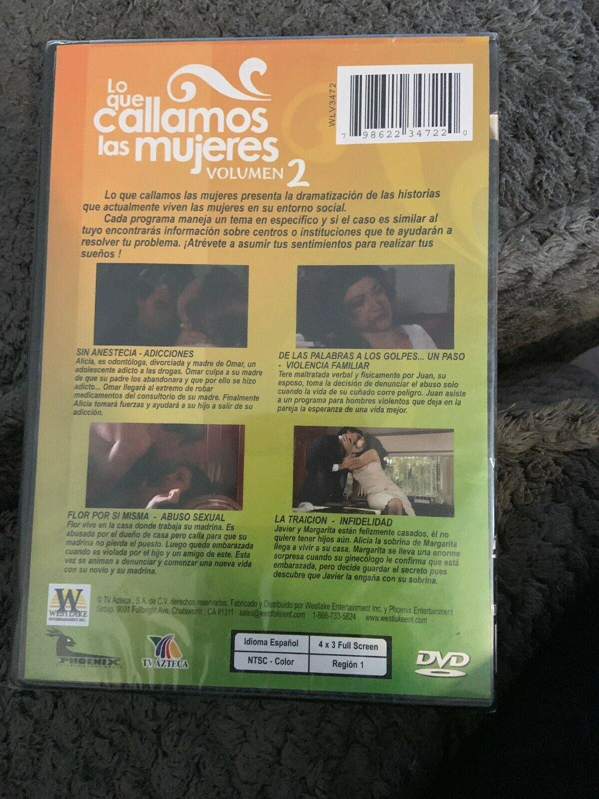 Lo Que Callamos Las Mujeres Vol 2 Dvd Walmart Com Walmart Com