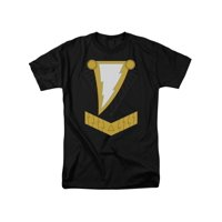 Justice League Of America DC Comics Shazam Black Armor Costume Adult T-Shirt